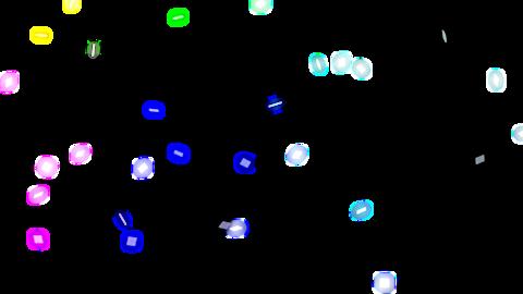 Confetti alpha Animation