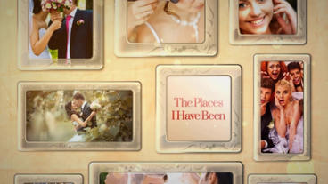Vintage Wedding After Effects Template