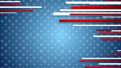 USA colors abstract video animation Animation