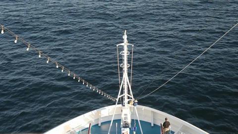 Ship bow ocean passenger P HD 4305 Live Action