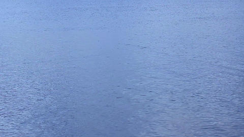 Rippling calm water surface, seaside meditation, feel nostalgia, loopable shot Footage