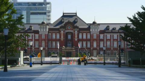Tokyo station, Tokyo Footage