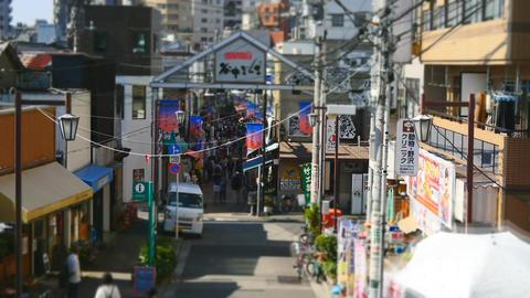 Yanaka Ginza, Tokyo Footage