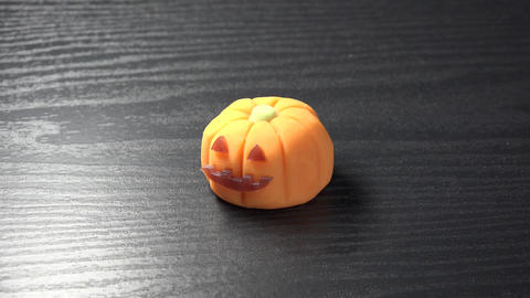 Wagashi/Halloween pumpkin Footage