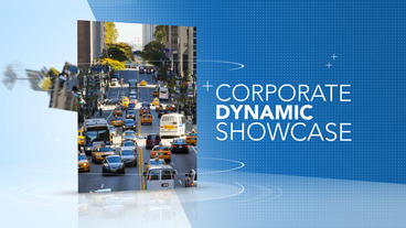 Corporate Dynamic Showcase - Apple Motion and Final Cut Pro X Template Apple-Motion-Projekt