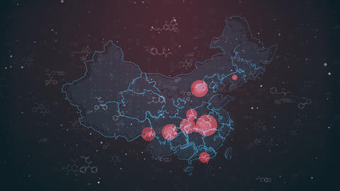 Mapping Biological Hazard in China Animation