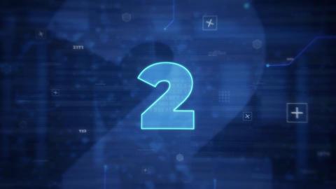 Digital Countdown Intro Premiere Pro Template
