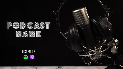Podcast Promo After Effects Template