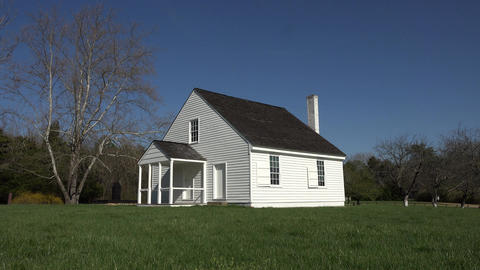 Virginia Stonewall Jackson death place and Shrine 4K Footage