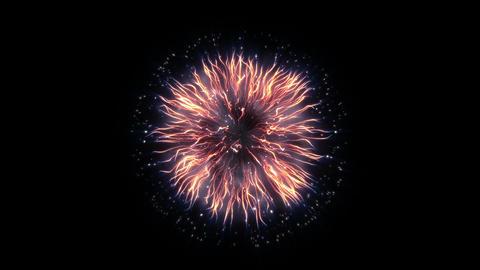 Firework light 01 CG動画素材