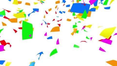 Confetti 1 LookUp Fix 4XcW L 4k Animation