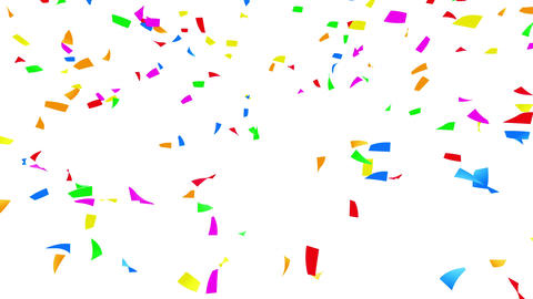 Confetti 1 LookUp Fix 6XcW 4k Animation