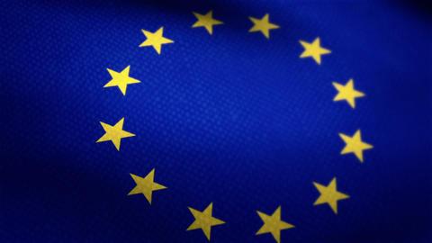 European Union Flag Animation