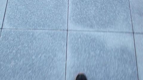 Walking Man From Way Footage