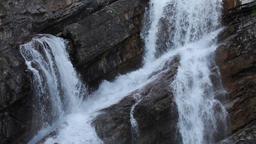Waterton Cameron Falls cascade P HD 0463 Live Action