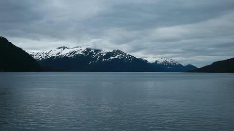 Whittier bay evening Alaska P HD 8099 Footage