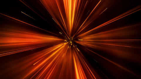 Orange Wormhole Portal Tunnel Loop Motion Background Animation
