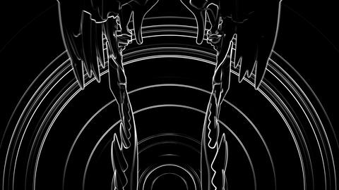 T-Rex Skull Loop 04 Videos animados