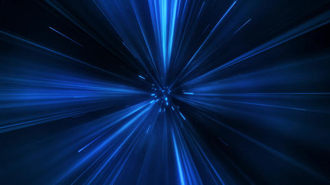 Blue Wormhole Portal Tunnel Loop Motion Background Animation