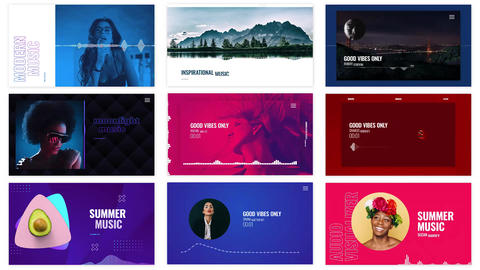 Audio Visualizations Pack After Effects Template