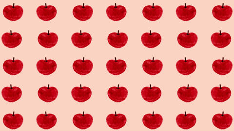 Apple handwriting style background Animation