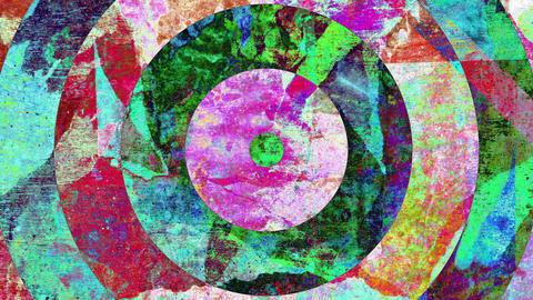 Colorful Grunge Art Background Animation