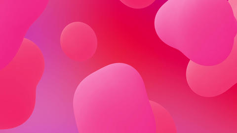 Abstract Flow Shapes Background Loop Animation