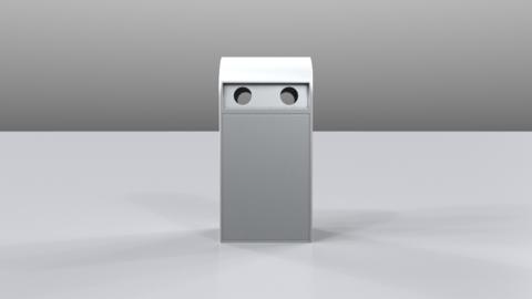 Garbagecan02 Modelo 3D
