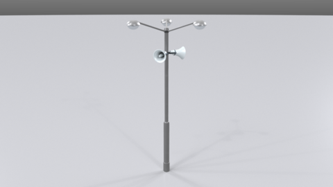 Street lamp01 3D Model