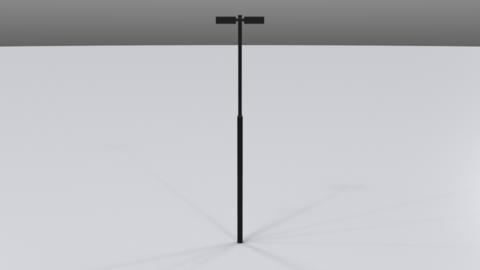 Street lamp02 3D Model