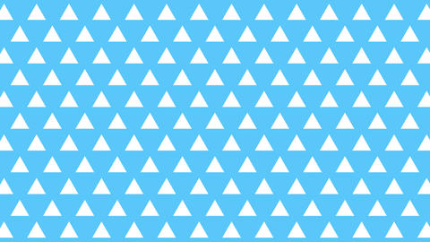 Pattern background triangle Animation