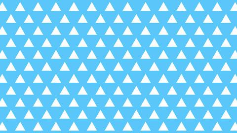 パターン背景三角 CG動画