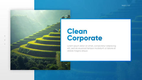 Colorful Presentation - Clean Corporate After Effectsテンプレート