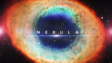Nebula Space Titles After Effects Project