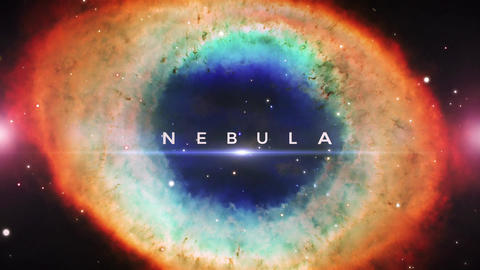 Nebula Space Titles After Effects Template