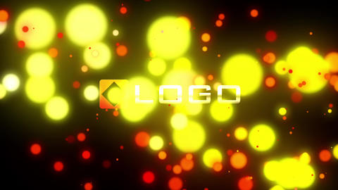 Fire Light Streak Dynamic Particles Logo Reveal Intro After Effects Template