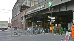 Friedrichstrasse railway station Footage