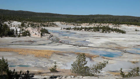 Yellowstone Porcelain Basin P HD 2517 Footage