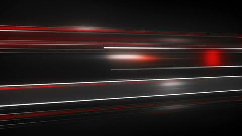 Red Light streaks loopable futuristic animation Animation