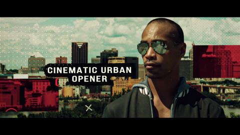 Cinematic Urban Opener After Effects Template