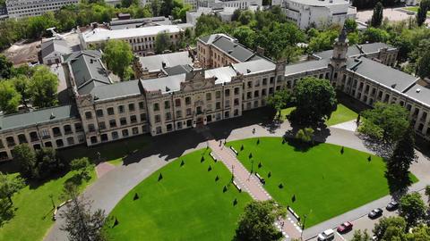 Ancient University Building Live Action