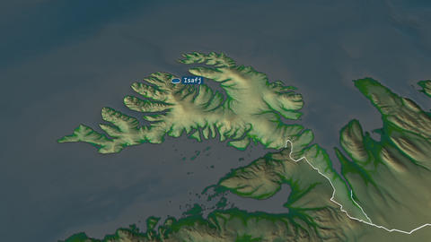 Vestfirðir - region of Iceland. Physical Animation