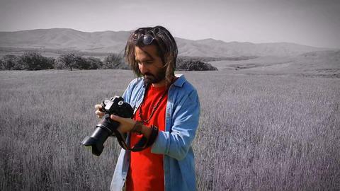 man photography inside farm Live Action