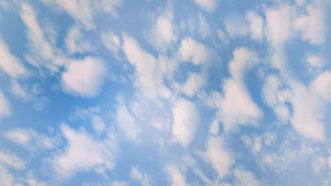 Blue Sky and White Clouds Animation