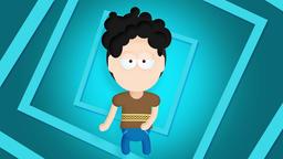 Character animation of floss dance Animation