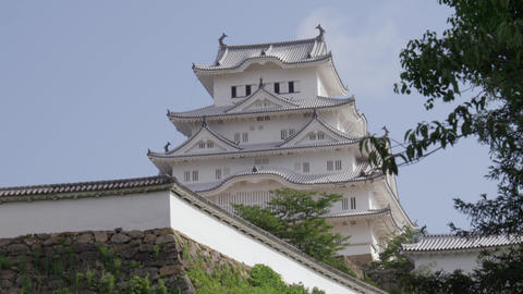 Castle hyougo himeji himejijyou V1-0069 Footage