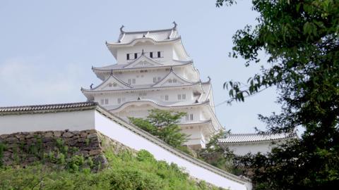 Castle hyougo himeji himejijyou V1-0073 Footage