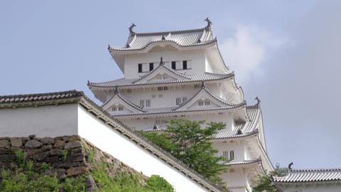 Castle hyougo himeji himejijyou V1-0079 Footage