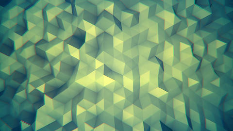 Hipster background 3D render seamless loop Animation