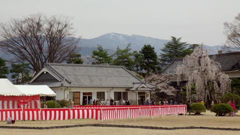 Castle nagano matsumoto matsumotojyou V1-0079 Footage